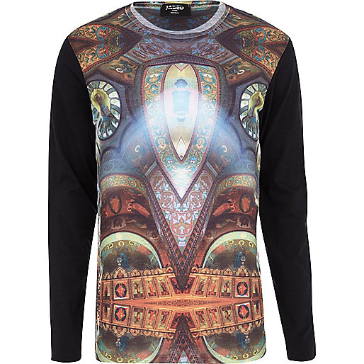 Black Jaded London renaissance sweatshirt