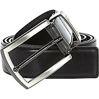 Black screw detail belt