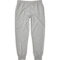 Grey marl slim joggers