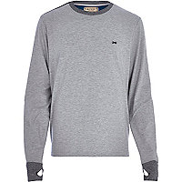Grey RI Cycle sweatshirt