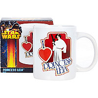 I love Princess Leia mug