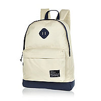 Stone two-tone backpack