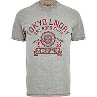 Grey Tokyo Laundry dry good supply t-shirt
