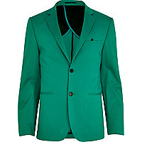 Bright green blazer