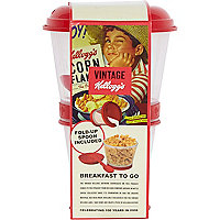 Kelloggs breakfast to go pot