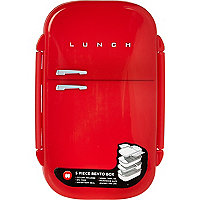 Red fridge lunch box
