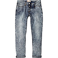 Light acid wash Dylan slim jeans