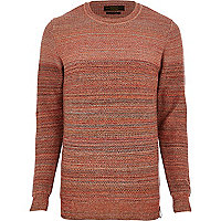 Orange Jack & Jones Premium stripe jumper