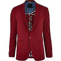 Red Vito blazer