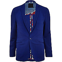 Bright blue Vito blazer