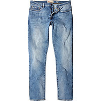 Light wash Dylan stretch slim jeans
