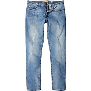Light vintage blue wash Dylan slim jeans