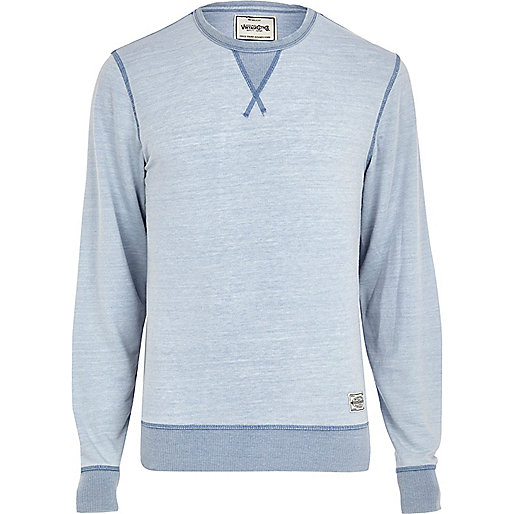 Light blue Jack & Jones Vintage sweatshirt