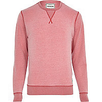Light red Jack & Jones Vintage sweatshirt
