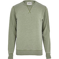Light green Jack & Jones Vintage sweatshirt