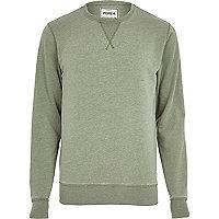 Light green Jack & Jones Vintage sweatshirt