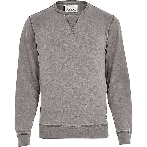 Grey Jack & Jones Vintage sweatshirt
