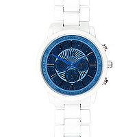 White matte bracelet watch