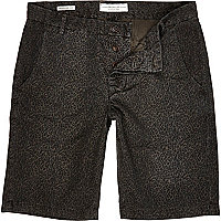 Black Jack & Jones Premium leopard shorts