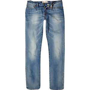 Light wash Dylan slim jeans