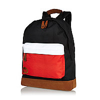 Black MiPac tri-tone backpack