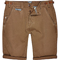 Tan Holloway Road chino shorts