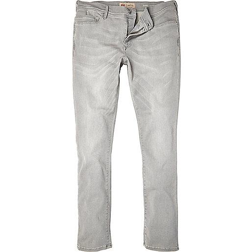 Grey Danny superskinny jeans