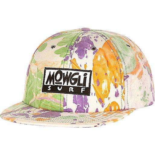 Purple tie dye Mowgli cap