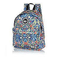 Blue Hype floral print backpack