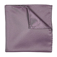 Lilac twill pocket square