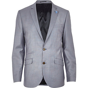 Lilac slim suit jacket