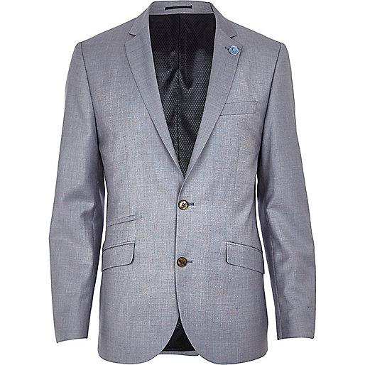 Lilac slim suit jacket