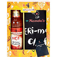 Nando's marinade and apron gift set