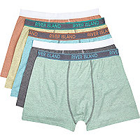 Mixed marl boxer shorts pack
