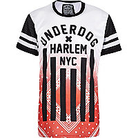 White Beck & Hersey Harlem NYC t-shirt