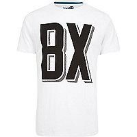 White Boxfresh logo t-shirt