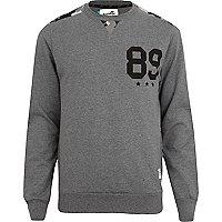Grey marl Boxfresh sweatshirt