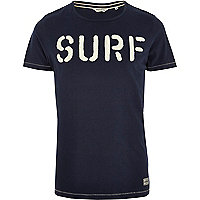 Blue Jack & Jones Vintage surf t-shirt