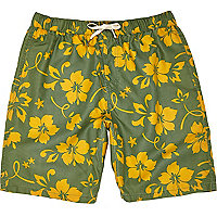 Green Jack & Jones Vintage swim shorts