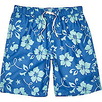 Blue Jack & Jones Vintage swim shorts