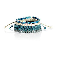 Turquoise mixed bracelet pack