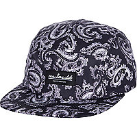 Blue New Love Club paisley print hat