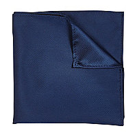 Petrol blue pocket square