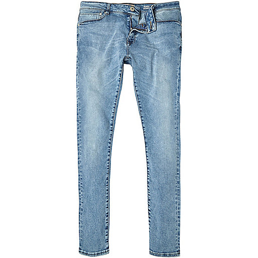 Light bleach wash Danny superskinny jeans
