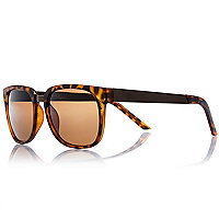 Brown Jeepers Peepers tortoise sunglasses