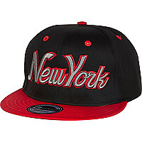 Black New York snapback