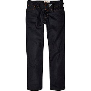 Dark wash Dean straight jeans