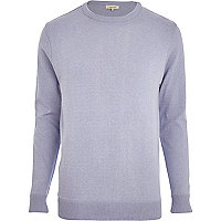 Light purple crew neck jumper