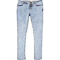 Light acid wash Danny super skinny jeans