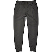 Dark grey jogger trousers